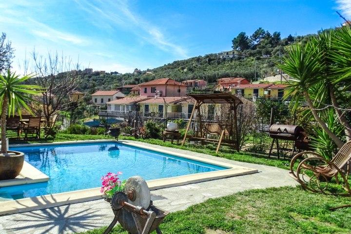 Ferienhaus Ligurien Ferienwohnung   sicher mieten bei Bella-Liguria